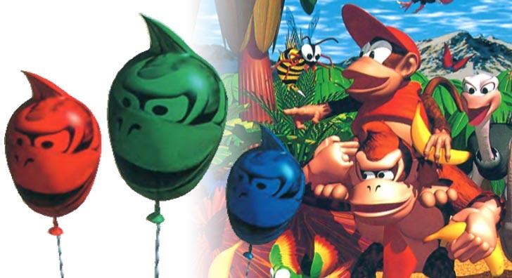 【ゲームのお話】ドンキーコングの1UPはなぜ風船なのか?