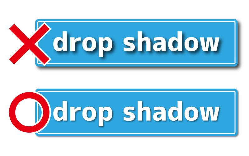 ドロップシャドウで文字やオブジェクトに影をつける方法【Illustrator(イラストレーター)】