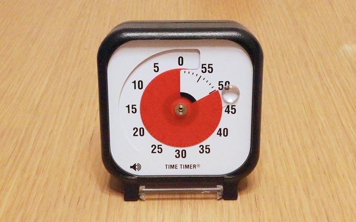 【感想・レビュー】時間管理におすすめ!時間が迫ってくるのが目に見えてわかるタイムタイマーのご紹介