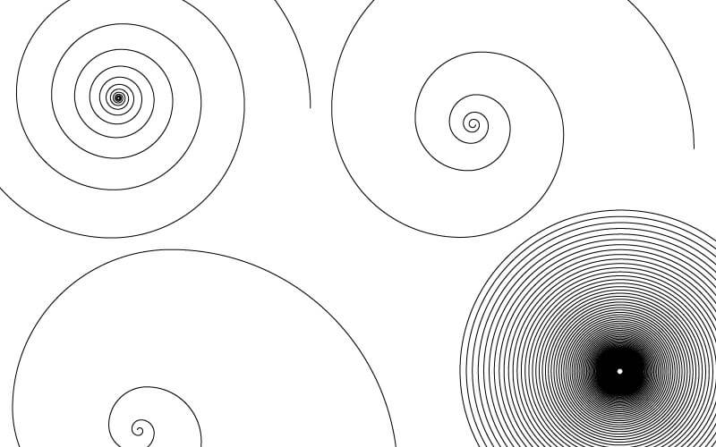渦巻き模様が簡単に作れる!スパイラルツールの使い方【Illustrator(イラストレーター)】