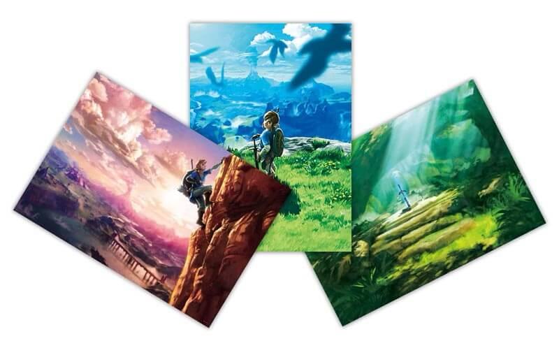 【ゲームのお話】クラブニンテンドーから届いた「ゼルダの伝説 ブレス オブ ザ ワイルド」のポスターがめちゃくちゃカッコイイ